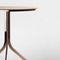 Table bistrot / contemporaine / en marbre / en acier by Jean Louis Iratzoki RETEGUI