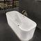 salle de bain contemporaine / en céramique / en bois laqué