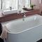 baignoire à encastrer / ovale / en acrylique / balnéo