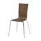 chaise visiteur design scandinave / tapissée / en tissu / en hêtre