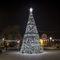 décoration de Noël lumineuse pour espace public / végétalisée