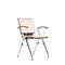 chaise visiteur contemporaine / avec accoudoirs / empilable / à tablette