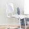 chaise visiteur design Bauhaus / tapissée / avec accoudoirs / cantilever