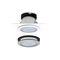 downlight encastré / à LED / rond / en fonte d'aluminium
