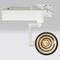 Éclairages sur rail à LED / circulaires / en aluminium / pour musées PUMA Brilumen