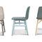 Chaise contemporaine / tapissée / en velours / en hêtre BARDOT by Emilio Nanni Traba'