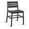 Chaise contemporaine / en tissu / en bois / en cuir JULIE by Emilio Nanni Traba'