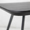 Table d'appoint contemporaine / en MDF / en frêne AKI SMALL by Emilio Nanni Traba'