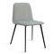 Chaise contemporaine / en velours / en hêtre / en cuir BARDOT MET by Emilio Nanni Traba'