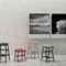 Tabouret contemporain / en hêtre / contreplaqué / en frêne NHINO by Emilio Nanni Traba'