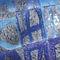 Panneau décoratif en verre de Murano / mural / rétroéclairé LETTERE veveglass