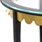 Table d'appoint classique / en verre / en fer / en fer forgé JOSEPHINE Mobilier De Style