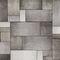 Papiers peints contemporains / en tissu / en vinyle / motifs géométriques CONCRETE Skinwall