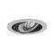 spot encastrable au plafond / à LED / rond / en acier
