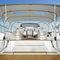 tissu pour protection solaire / uni / en polyester / pour bateau