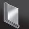 fenêtre battante / en aluminium / à double vitrage / à coupure thermique