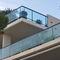 garde-corps en verre / en aluminium / à barreaux / d'extérieur