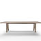 table à manger contemporaine / en bois massif / rectangulaire / par Antonio Citterio