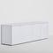meuble TV contemporain / lowboard / en bois