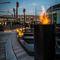 cheminée de jardin / au bioéthanol / contemporaine / à foyer ouvert