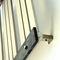 radiateur à eau chaude / en inox / contemporain / vertical