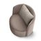 Fauteuil contemporain / en tissu / en cuir CHLOÈ by Spessotto & Agnoletto Ditre Italia