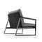 Fauteuil contemporain / en métal / en tissu / en cuir DAYTONA by Lo Scalzo Moscheri Ditre Italia