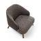 Fauteuil contemporain / en tissu / en cuir / en bois ST.TROPEZ by Lo Scalzo Moscheri Ditre Italia