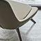 Fauteuil pivotant / contemporain / en métal / en tissu LINEAR by Edi & Paolo Ciani Design Ditre Italia
