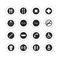 pictogramme de porte en acier inoxydable / d'intérieur / d'extérieur