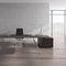 bureau de direction / en plaqué bois / en stratifié / en aluminium