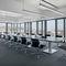 Table de réunion contemporaine / en plaqué bois / en stratifié / rectangulaire SONO by Justus Kolberg Renz