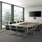 Table de conférence contemporaine / en plaqué bois / en aluminium / en stratifié TALK by Jehs + Laub Renz