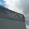clôture industrielle / à lames / en métal / brise-vue