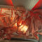 Faux-plafond en métal / en îlot / acoustique / courbé CANGIANTE TESSITURA TELE METALLICHE ROSSI OLIVIERO
