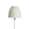 lampe sur pied / contemporaine / en fibres synthétiques / d'extérieur