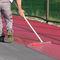 revêtement de sol en résine / en synthétique / pour terrain de tennis / pour le tertiaire
