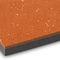 revêtement de sol en caoutchouc / pour installation sportive / lisse / aspect carrelage