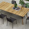 chaise contemporaine / en aluminium peint / en fibres synthétiques / professionnelle