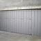 porte de garage basculante / bois / automatique