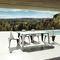 chaise de jardin design original / en polyéthylène / par Fabio Novembre