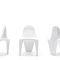 Chaise de jardin design original / en polyéthylène / par Fabio Novembre F3  VONDOM