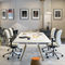 table de réunion contemporaine / en bois / rectangulaireAHREND AERO by Marck HaansAhrend