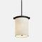 Lampe suspension / classique / en papier / fait main KOLOM Kevin Reilly Collection