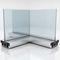 cloison amovible / en aluminium / vitrée / à usage professionnel