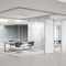 Cloison amovible / en aluminium / vitrée / de bureau FLAT ONE 4 FLAT BY ARTIS