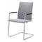 Chaise visiteur contemporaine / en contreplaqué moulé / en acier / empilable SET by Gerd Rausch BRUNE Sitzmöbel GmbH