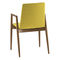 Chaise visiteur contemporaine / avec accoudoirs / tapissée / en bois PEPPER by Uwe Sommerlade BRUNE Sitzmöbel GmbH