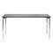 Table contemporaine / en métal / rectangulaire / pour établissement public 4091 BRUNE Sitzmöbel GmbH