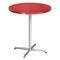 Table bistrot contemporaine / en acier / ronde / carrée 4115 by delphin design BRUNE Sitzmöbel GmbH